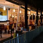 ресторан с русской едой прилегает к отелю