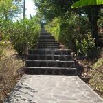 escaliers resto/chambre