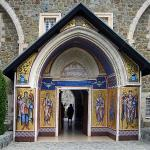 The Monastery entrance, Kykkos Monastery, Cyprus