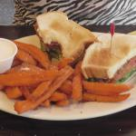 Mile High Cafe: BLT with sweet potato fries