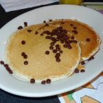 Chocolate Chip Pancakes Kids Breakfast