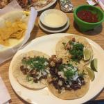 Steak, Fish & Shrimp Tacos