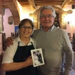 Belissimo!!!  The BEST homemade pasta EVER!  Mama Theresa is an awesome cook, and her husband of