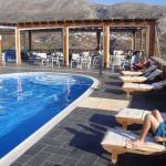 piscine et restaurant de l'hôtel