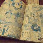 Manga book.