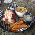 Lobster roll Dinner Special
