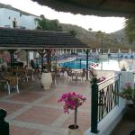 Poolside at lambis