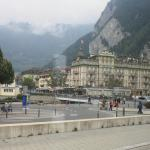 View of Hotel from Interlaken West Station