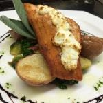 Stuffed Salmon special