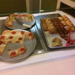 Pizza and muffins