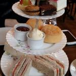 Afternoon tea at the Gore Hotel