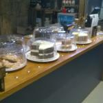 good selection of cakes