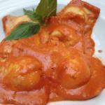 Excellent ravioli
