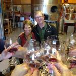 Ron and Cathy Redmam at Redman Wines