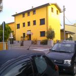 Montecatini Terme, the stree thwere the hotel is