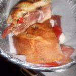 Panino Italiano on homemade bread