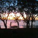 sunset from cabin 9