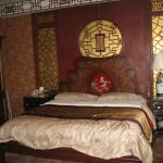 Bedroom with lovely antiques
