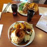 Nice food plenty of it....