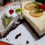 Delicia alpina/Tarta de chocolate y naranja