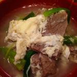 Galbi Tang soup