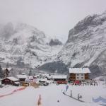 Pista para iniciantes e esteira em Grindelwald Bodmi