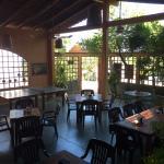 Cafe's interior