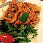 Chilli Cashew Chicken
