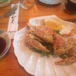 Soft shell Crab Dinner