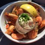 Smoked shrimp