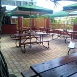 Enjoy the Bermuda sunshine on our newly renovated patio