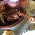 Morcilla de Burgos y chorizo. Lechazo exquisito