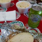 Lunch + Dr. Brown's Celery Soda!