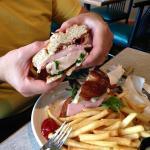 Ham/Chicken Sandwich