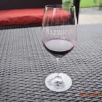 A glass needing more wine!
