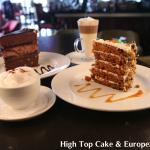 Decadent Cake Slices & European Coffees
