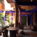 lounge pool area