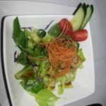 Salade en entrée