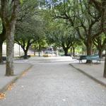 Cortona's park and walkway