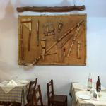 mesa y decoración