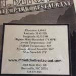 Foto de MT Mitchell View Restaurant