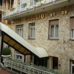 Hotel is well located for town and transportation.
