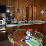 Kitchen and sink area in cabin 12