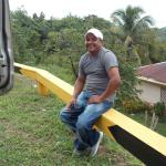 Our driver Ernesto Zelaya