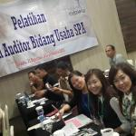 Our management staff at Potential Spa Auditor 2015 representing Batam and whole KEPRI