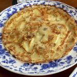 Banana cheese panekoek