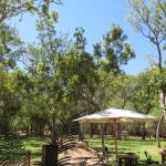 View from the Lounge/Dinning - Emma Gorge Resort