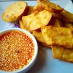 Sweet potato deep fried