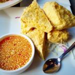 Soft crispy tofu