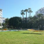 Grounds and pools